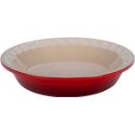 Le Creuset Heritage Cherry Stoneware Pie Pan, 9 Inch