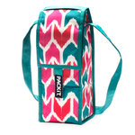 PackIt Ikat Print Single Bottle Freezable Wine Bag