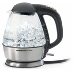 Chef's Choice Cordless Electric Glass Kettle, 1.75 Quart