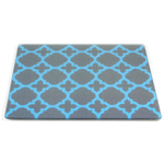 Blueberry Royale Tempered Glass Rectangular Cutting Board, 8 x 10 Inch