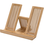 Anchor Hocking Fresco Bamboo Cookbook Holder
