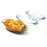 Anchor Hocking Oven Basics Mini Glass Pie Plate, Set of 3