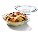 Anchor Hocking Oven Basics Glass 6 Inch Mini Pie Plate, Set of 2