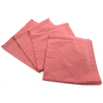 Park B. Smith Dalton Guava Pink 100% Cotton Dinner Napkin, Set of 12