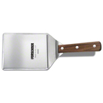 Victorinox Forschner Stainless Steel Hamburger Turner with Wooden Handle, 5 x 6 Inch