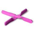 Menu Jakob Wagner Pink Silicone Trivet Propeller