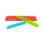 Messermeister 3 Piece Multicolored Translucent Plastic Edge Guard Set