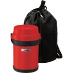 Zojirushi Mr. Bento Apple Red Stainless Steel Lunch Jar
