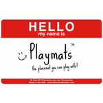 Talisman Designs Playmats Interactive Red Standard Paper Placemat, Pad of 20