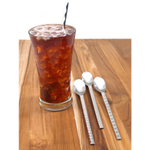 WMF TYPE 18/10 Stainless Steel Long Drink Spoon, Set of 4