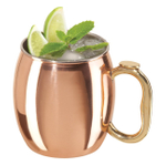 Copper-Plated Moscow Mule Drinking Mug, 20 Ounce