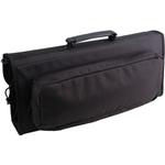 Messermeister 17 Pocket Padded Black Polyester Knife Bag