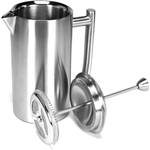 Frieling Brushed Stainless Steel French Press Coffeemaker, 23 Ounce