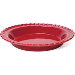 Chantal True Red Ceramic Classic Pie Dish, 9 Inch