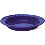 Chantal Indigo Blue Ceramic Classic Pie Dish, 9 Inch