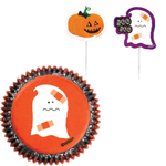 Wilton Spooky 24 Count Cupcake Liner and Pick Combo Pack