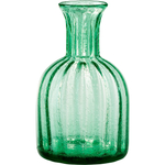 Artland Savanah Green Bubble Glass Carafe, 60 Ounce