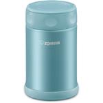 Zojirushi Aqua Blue 18/8 Stainless Steel Food Jar, 17 Ounce