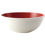 Rachael Ray Rise Round Red Stoneware Serving Bowl, 10 Inch