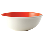 Rachael Ray Rise Round Orange Stoneware Serving Bowl, 10 Inch