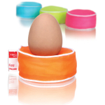 VacuVin Multi-Colored Egg Pillow, Set of 4