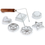 Norpro Cast Aluminum 7 Piece Rosette and Timbale Set
