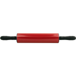 Foxrun Black and Red Nonstick Rolling Pin
