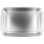Foxrun Stainless Steel Roasting Pan, 10 x 14.5 Inch