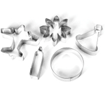 Foxrun Tinplated Steel Birthday Party Cookie Cutter Set