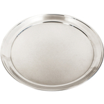 Foxrun Stainless Steel Pizza Pan, 16 Inch