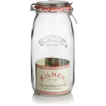 Kilner Glass Round Clip Top Jar, 68 Ounce