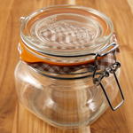 Kilner Glass Square Clip Top Jar, 17 Ounce