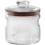 Kilner Glass Push Top Storage Jar, 22 Ounce