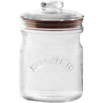 Kilner Glass Push Top Storage Jar, 34 Ounce