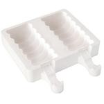 Silikomart Easy Cream White Silicone Tango Ice Cream Bar Mold Set