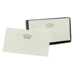 Homart Crown Printed Handmade Paper Card, Set of 32