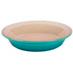 Le Creuset Heritage Caribbean Stoneware 9 Inch Pie Pan