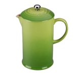 Le Creuset Palm Stoneware 27 Ounce French Press Coffee Maker