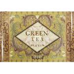 Melamine Large European Green Tea Serving Tray