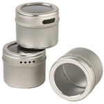 Kamenstein Magnetic Storage Tins, Set of 3