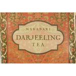 Melamine Darjeeling Tea Medium Footed Serving Tray with Handles