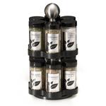 Kamenstein 12 Jar Madison Stainless Steel Spice Rack