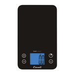 Escali SmartConnect Bluetooth Black Kitchen Scale, 11 Pound