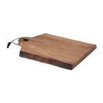 Rachael Ray Cucina Acacia Wood Cutting Board with Handle, 14 x 11 Inch