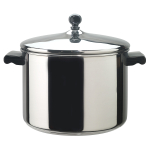 Farberware Classic 18/10 Stainless Steel Covered Stockpot, 8 Quart