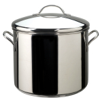 Farberware Classic Covered Stockpot with Stainless Steel Fittings, 12 Quart