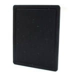 Grande Epicure Black Polypropylene Rectangular Cutting Board, 8 x 10 Inch