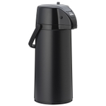 Zojirushi Matte Black Lever Airpot with Brew Thru Stem Stopper, 2.1 Liter