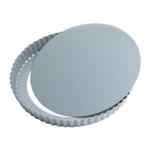 Foxrun Preferred Non-stick Round Removable Bottom Quiche Pan, 9 Inch