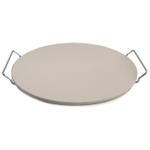 Bialetti Taste of Italy Ceramic Round Pizza Stone, 14.75 Inch